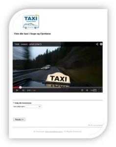 Klikk på bilde for å finne din taxi i Sogn og Fjordane