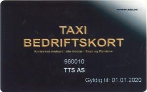 Taxi Bedriftskort